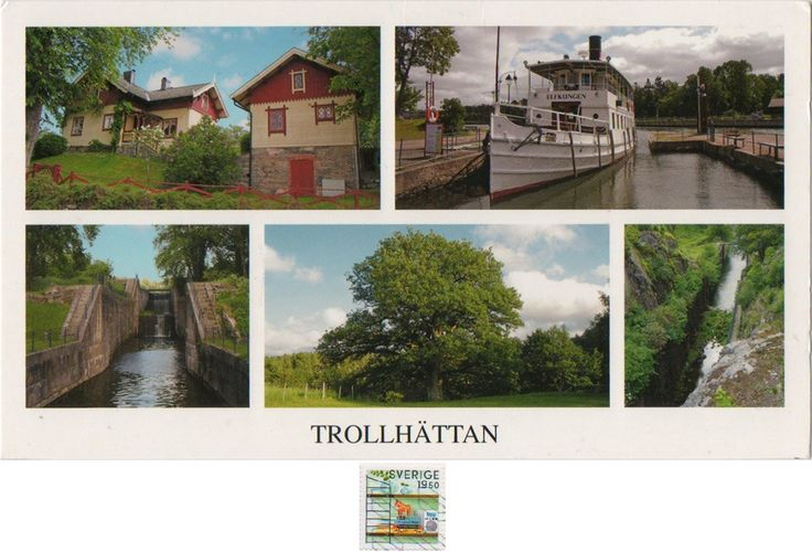 """Swap - Arrived: 2017.02.14   ---   Trollhättan is a city and the seat of Trollhättan Municipality, Västra Götaland County, Sweden. Trollhättan was founded on the river Göta älv, at the Trollhättan Falls. The site was first mentioned in literature from 1413.  The name Trollhättan is translated as """"troll's bonnet"""". The latter part """"hätta"""" could also mean mountain top."""