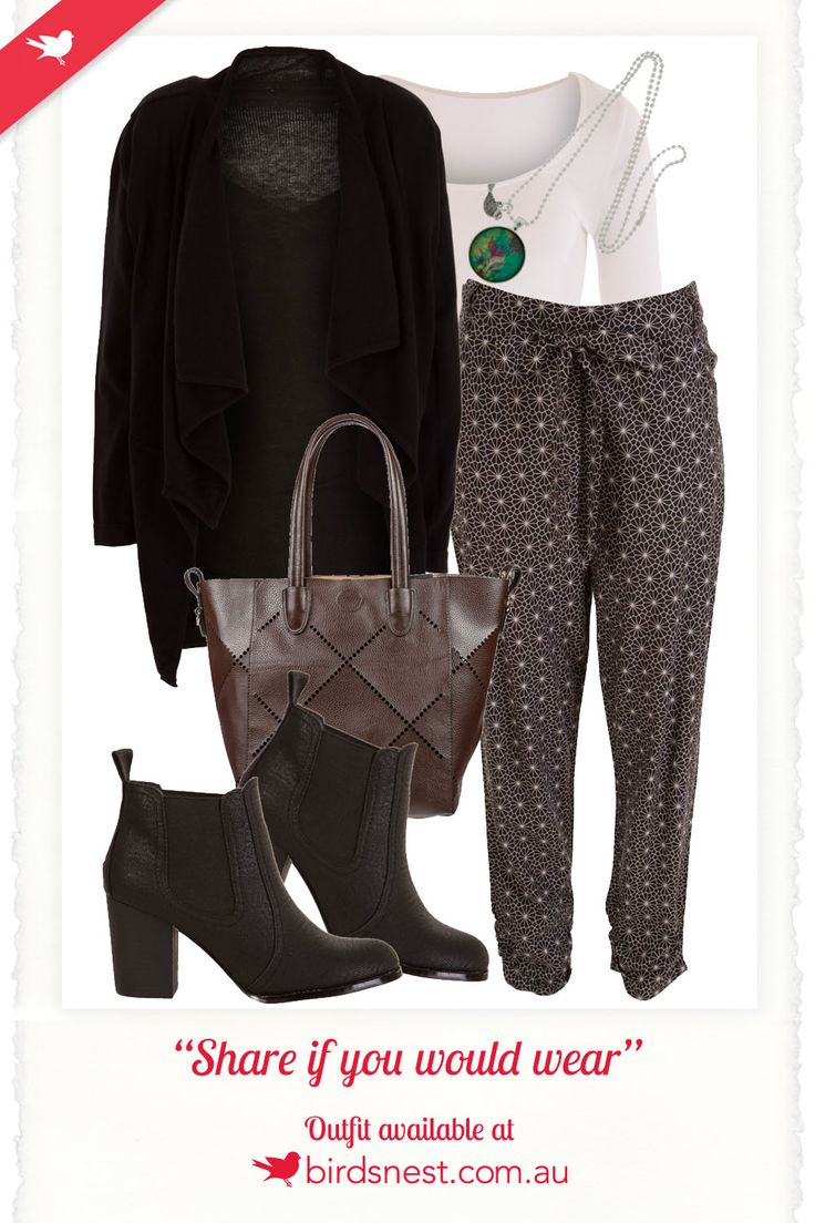 Outfit of the day: You don't have to sacrifice style for comfort, with this cosy look that ticks both boxes.