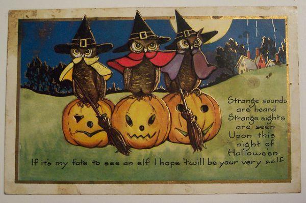 vintage halloween postcards | ... buzzfeed com angelameiquan 21 bizarre vintage halloween postcards 70fn