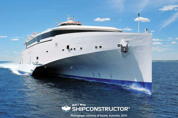 The H270 102-metre trimaran is an evolution of Austal's landmark 2005 trimaran ferry.
