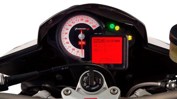 2014 Aprilia Tuono V4 R APRC ABS display 2014 Aprilia Tuono V4 R APRC ABS Revolutionise for Superbike