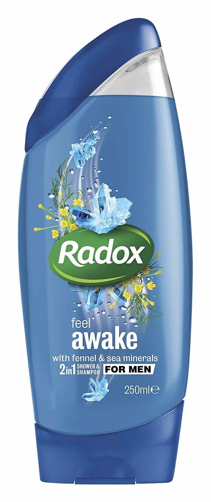 Radox Feel Good Fragrance 2 In1 Shower And Shampoo 250ml In 2020