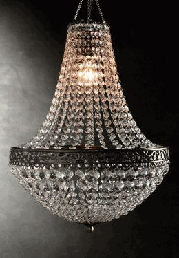 Great site to buy all things DIY - like oriental trading co for adults! Even has chandeliers!!!