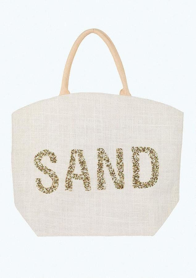 Don't Forget These It Bags When You Go to the Beach: Alloy Sand Beach Tote Bag ($35)