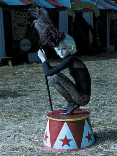 halloween, vintage circus | fashion # photography # circus