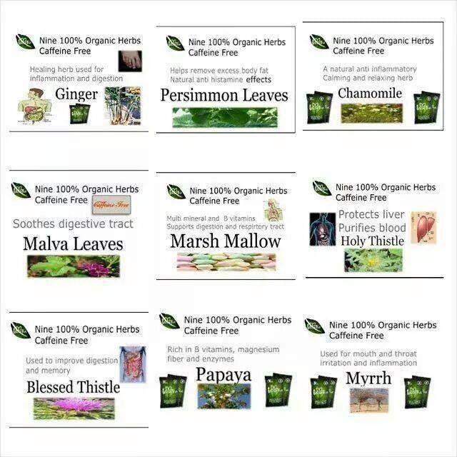 9 ingredients in iaso tea
