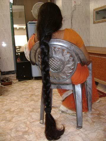 Indian Long Hair Braid