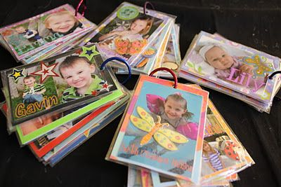 Photo flip books!Knits Bags, Diapers Bags, Libraries Book, Flip Books, Gym Bags, Photos Flip, Kids Photos, Photos Book, Knitting Bags