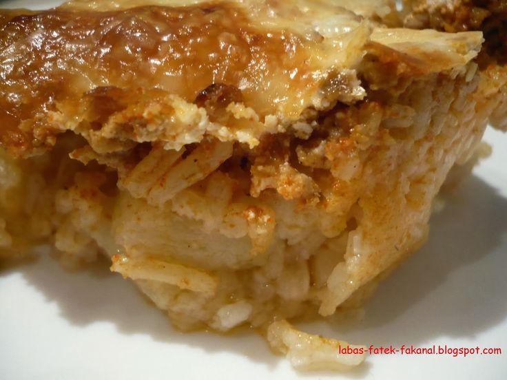lábas, fazék, fakanál: Hússal rakott karalábé