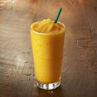 Mango Passion Tea Frappuccino