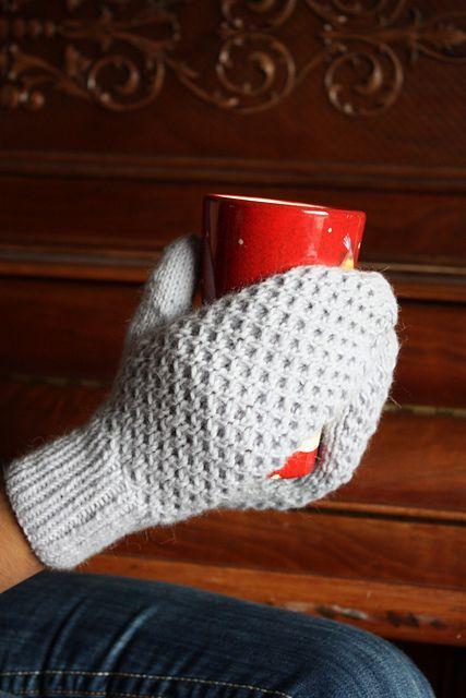 Honey Mittens pattern by Megan Grewal - Toddler to Adult Sizes :-)