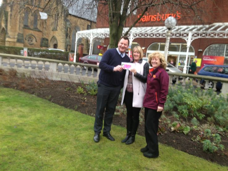 Sainsbury's donate a £50 garden centre voucher to our volunteer group.