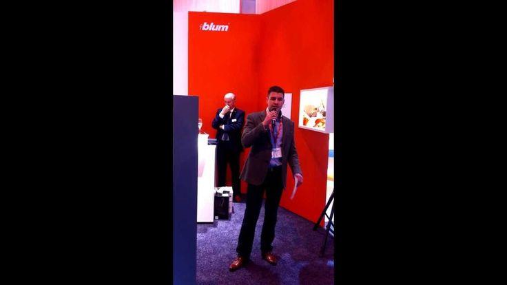 Darren Morgan speaks at KBB 14 Blum Innovation Awards