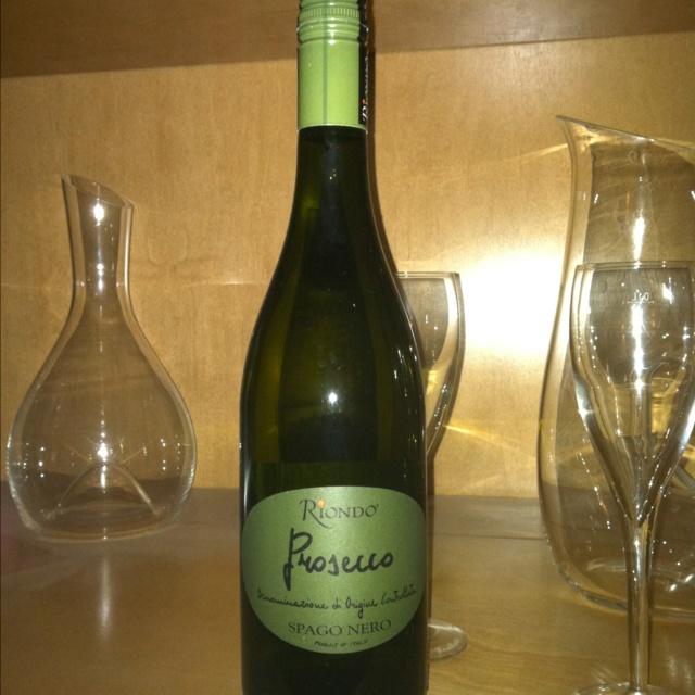 Looove this stuff:  RIONDO PROSECCO buy local... The Wine Exchange in Orange.