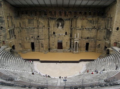 Anfiteatro romano, Orange