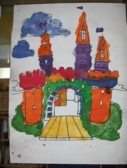Thema ridders op kleutergroep - werkbladen knutsels spelletjes boeken kleurplaten