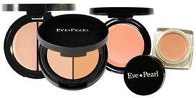 Eve Pearl salmon concealer- This is the best concealer for under eye discoloration/darkness. Target also sells a good one called Pixi in brightening peach.
