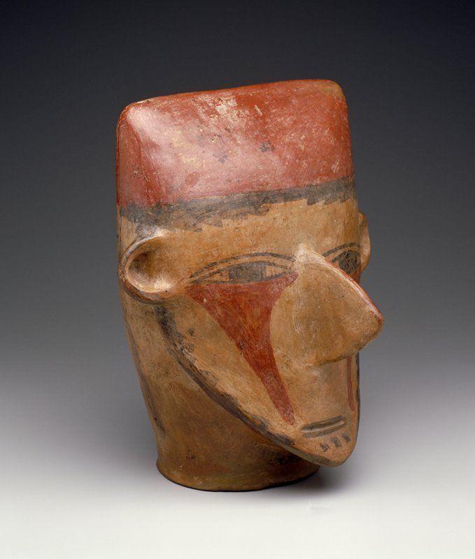 Nazca Effigy vessel, Peru, 650-799