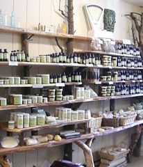 Rebecca's Herbal Apothecary is an amazing store whose goal is to encourage health the botanical way! In addition to great teas, soaps, books and more, they also offer classes.