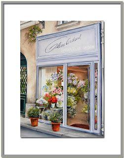 Коллекция картинок: Париж глазами художницы Мари-Клер Houmeau