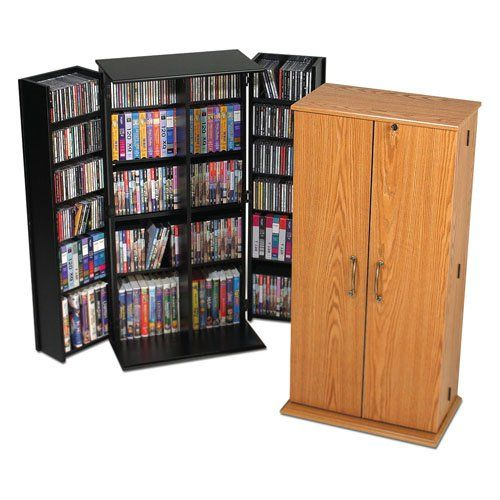 Prepac Medium Deluxe Media Storage Unit | from hayneedle.com
