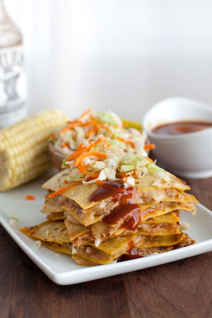 Texas BBQ Pulled Pork Quesadillas - Snixy Kitchen - Snixy Kitchen