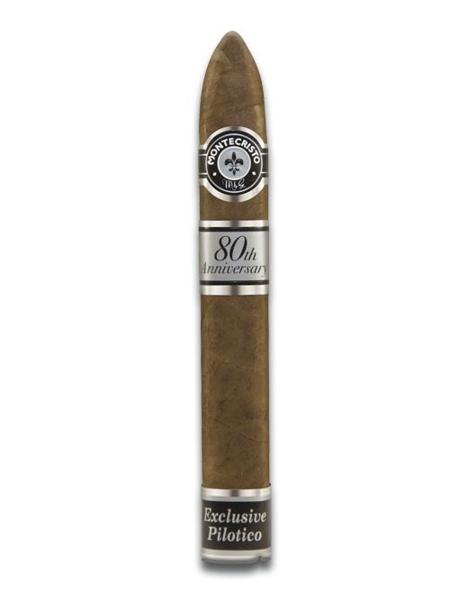 Shop Now Montecristo 80th Anniversary Belicoso #2 Cigars - Natural Box of 12   Cuenca Cigars  Sales Price:  $238.95
