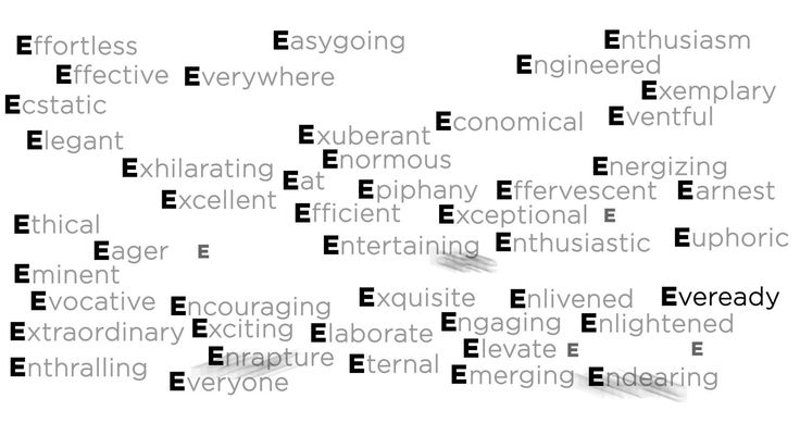 E for Extentia! What else does E stand for?  https://twitter.com/