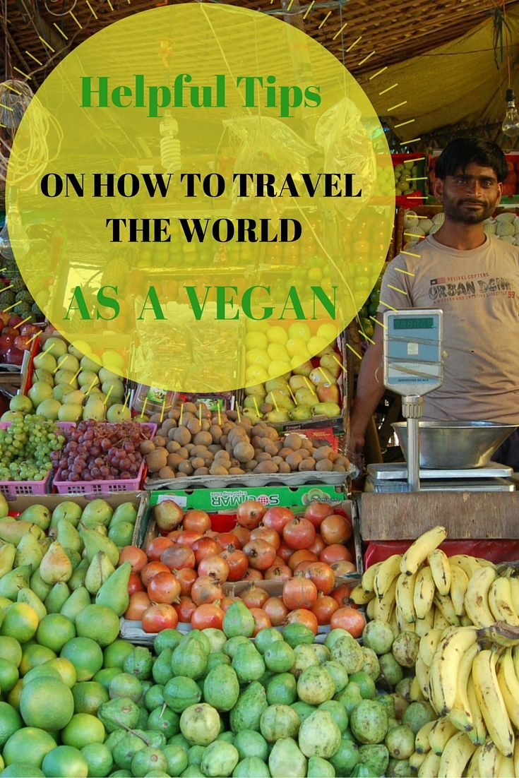 Helpful tips on how to travel the world as a vegan!  - Anita Hendrieka