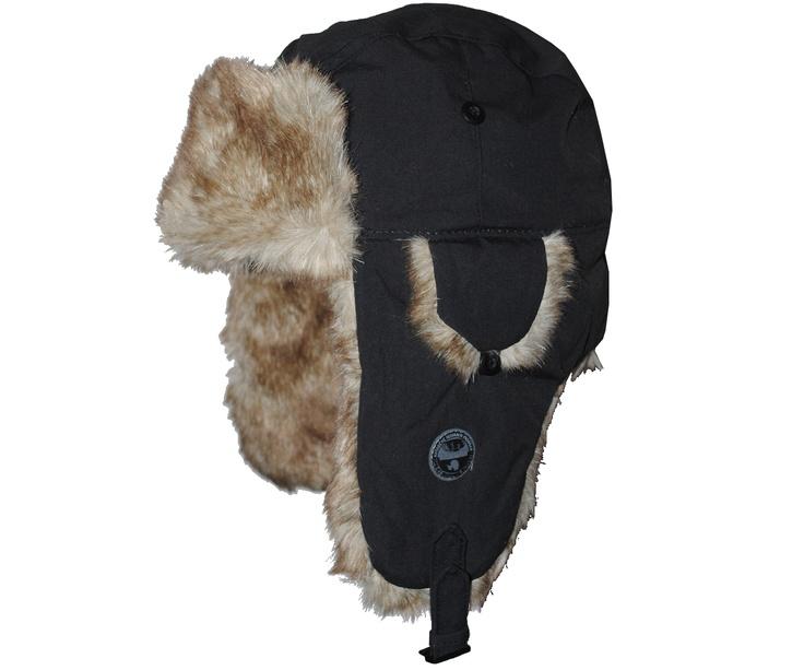 Napapijri Hats Napapijri Dorum Trapper Hat Black - Terraces Menswear
