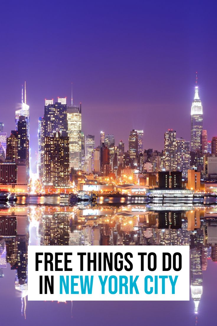 40 free things to do in new york