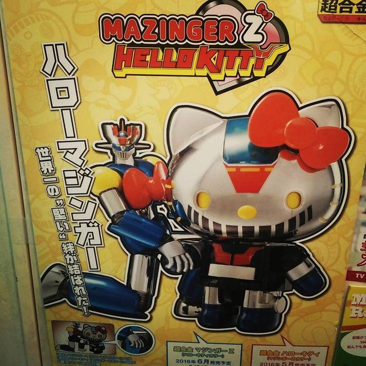 Ecco cosa é successo a #Mazinga da quando frequentata #hellokitty! #Giappone #Japan #travel #viaggio #amazing #YouTube #vlog #travelblogger #travelvlogger #photooftheday #photography #japantrip #turismo #sugoi #onlyinjapan #kawaii #soulofchogokin #mazinger #anime #manga #toy #actionfigures #robots