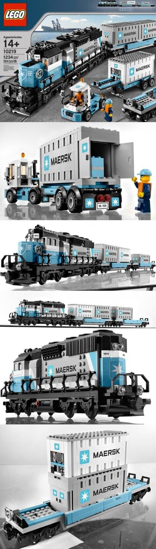 LEGO Creator Maersk Train 10219, , #Toys, #Building Sets