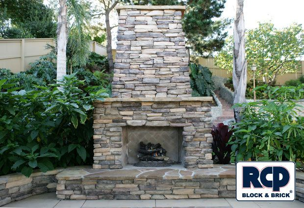 17 best images about stone veneer on pinterest the o for Blocked fireplace ideas