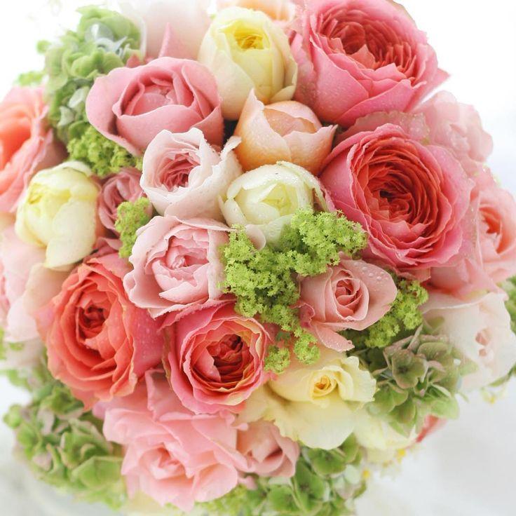 雨の日はキュート色!#ブーケ#結婚#二次会#都ホテル#結婚準備#結婚式準備#結婚式#wedding #bouquet