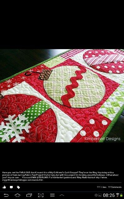 christmas table runners | Christmas table runner | Christmas