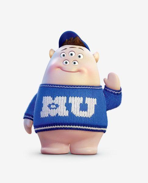 "Scott ""Squishy"" Squibbles- Monsters University"
