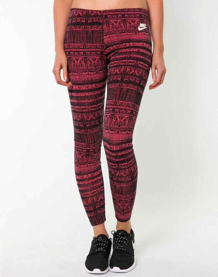 Nike Womens Leg A See Leggings #Aztecprints #WomensFashion #ontrend
