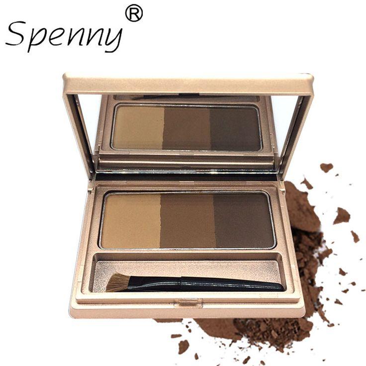 Eyebrow enhancer set 3 colors mixed eye brow powde…