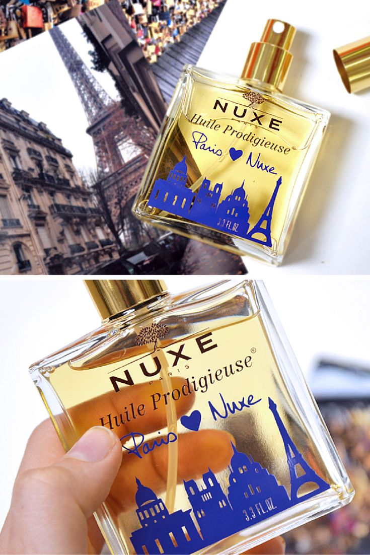 The beautiful hair, body and face oil: Nuxe Huile Prodigieuse - Paris Edition