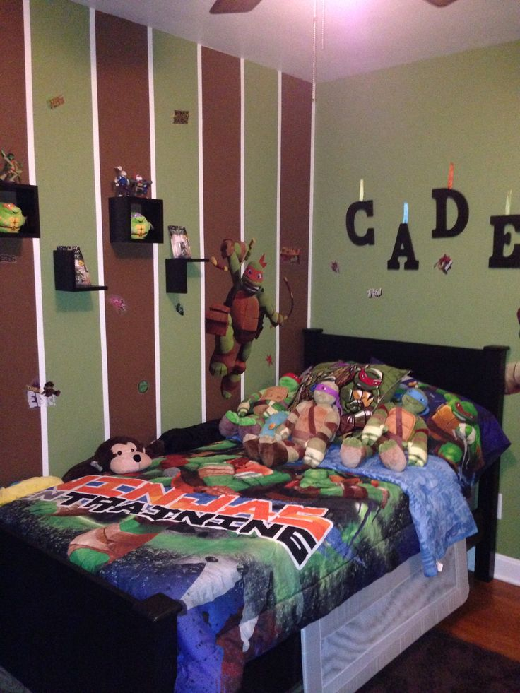 50 Car Themed Bedroom Ideas For Kids Boys Accessories: 17 Best Images About TMNT Room On Pinterest
