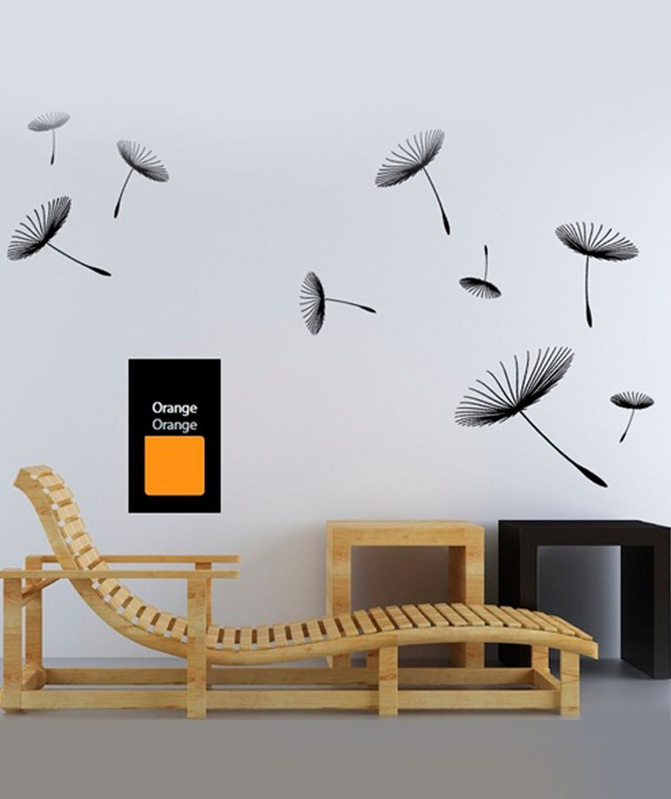 Dientes de le n volando vinilo adhesivo decoraci n de for Adhesivos de pared infantiles
