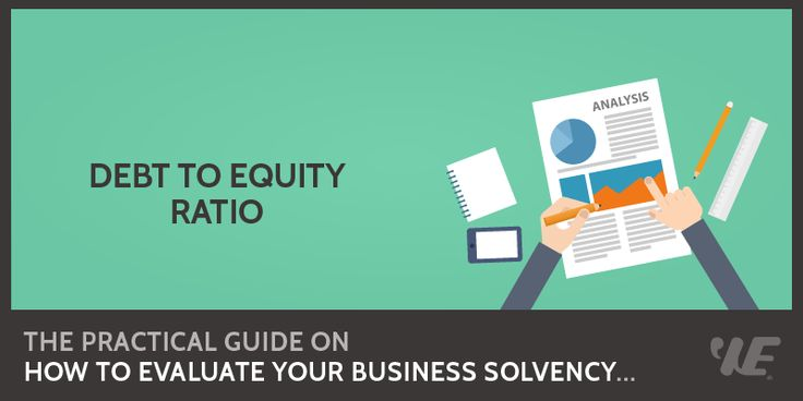 Debt to Equity Ratio  Click to read the full article on website: https://wealthyeducation.com/debt-to-equity-ratio/  #investing #stockmarket #makemoney
