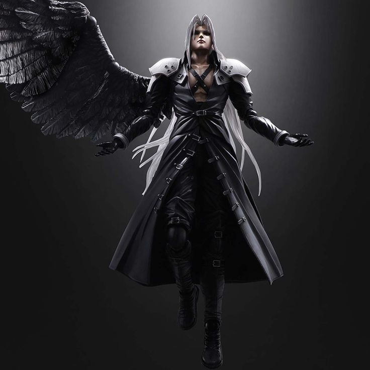 Final Fantasy Play Arts Advent Children Sephiroth Action Figure