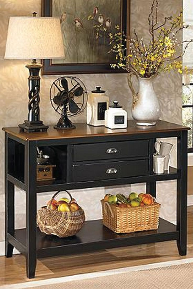 This Beautiful And Sleek Dining Room Server Is Topped With Elegant Display Nooks Provides Plenty