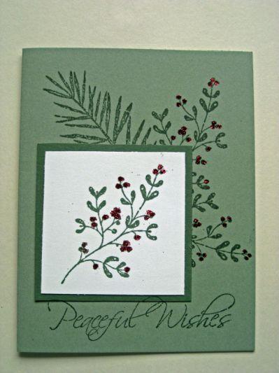 Stampin' Up! Christmas Card   Susan