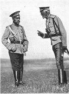 Novgorod Borzoi of Colorado   History / Tsar & his uncle Grand Duke Nicolai N.