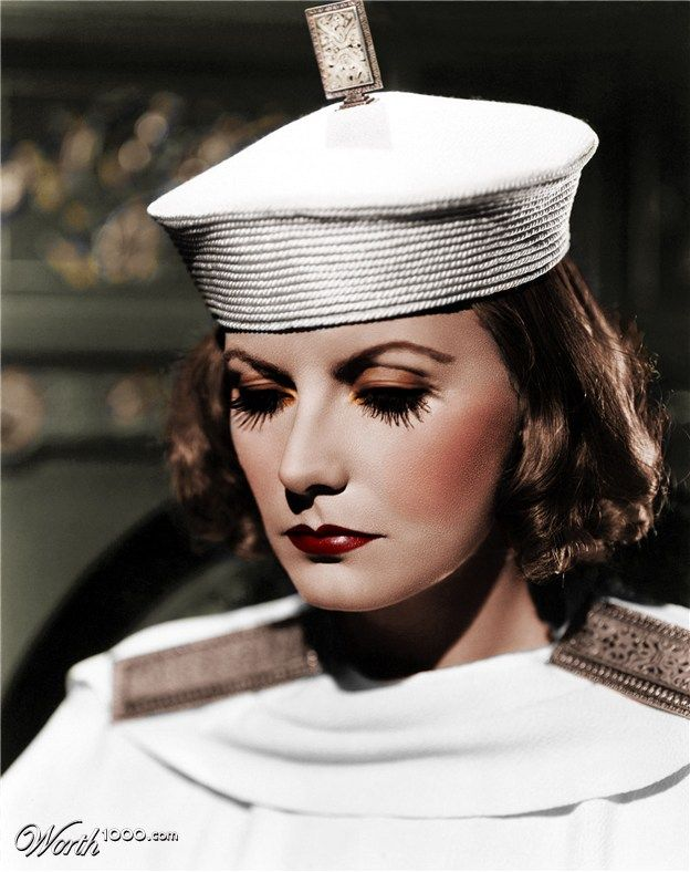 The Beautiful Greta Garbo in movie The Painted Veil(1934)