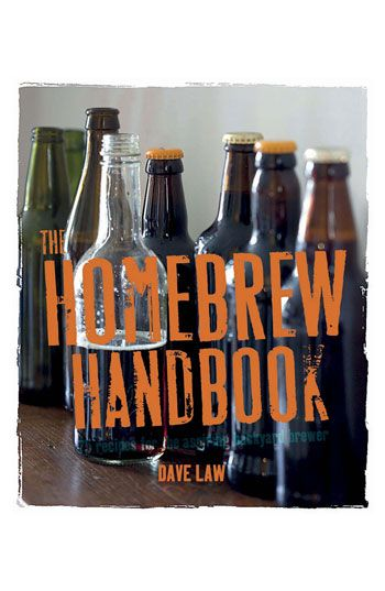 Dave Law 'The Homebrew Handbook' Drink Book | Nordstrom