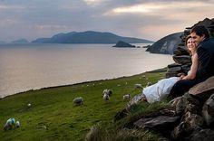 winter irish wedding Ireland